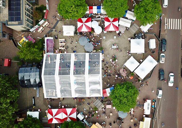 transparante tent 12 meter