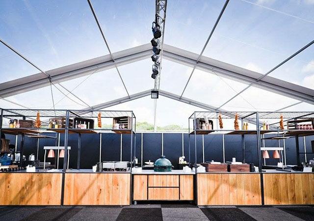 transparante tent 20 meter