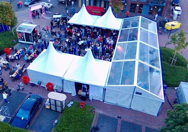 transparante tent 10 meter